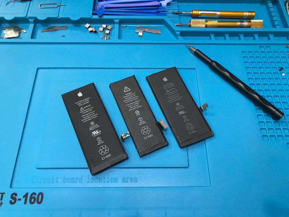 Замена батареи iPhone