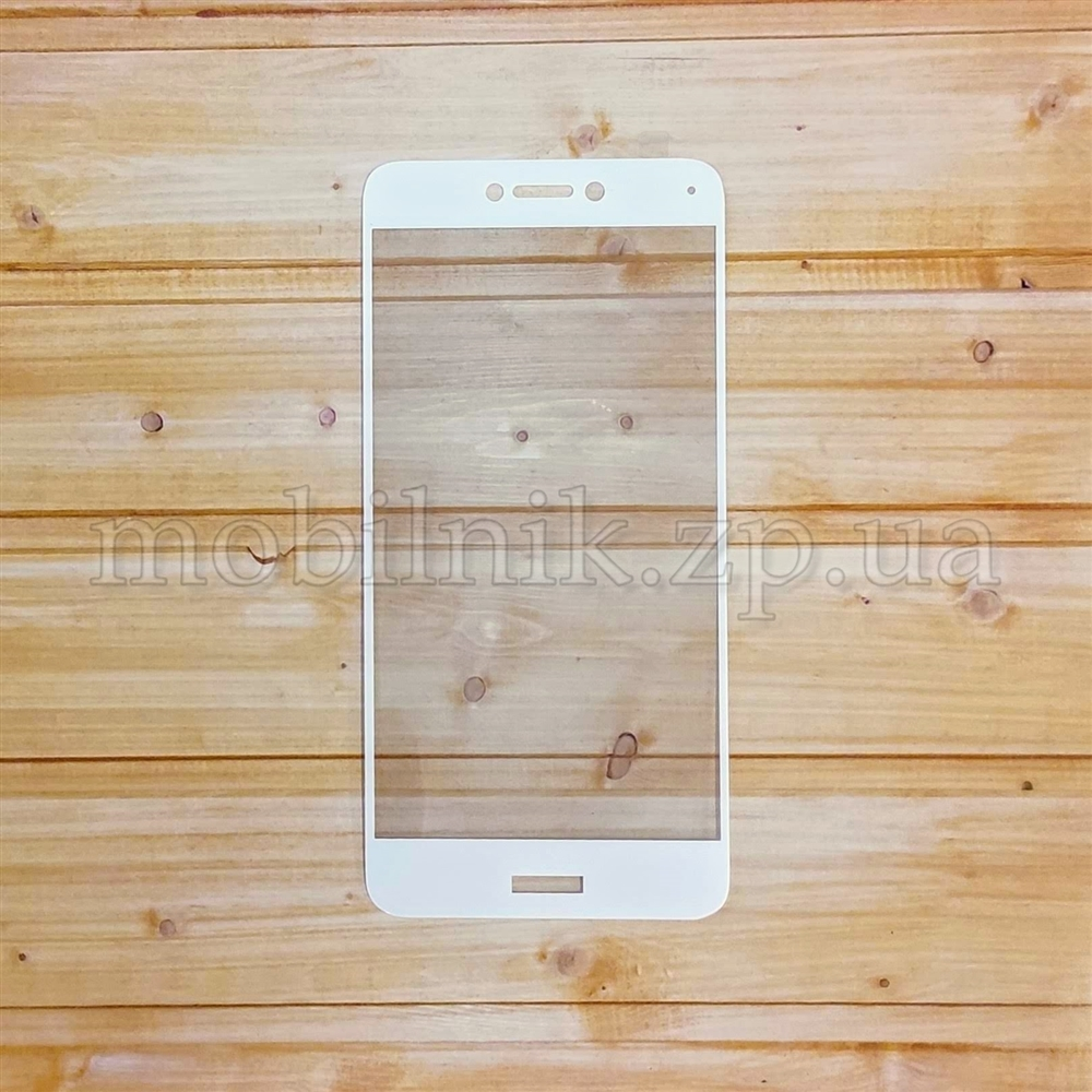Защитное стекло для Huawei P8 Lite 2017 White