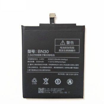Аккумулятор BN30 для Xiaomi Redmi 4A, Li-ion, 3,85 B, 3120 мАч