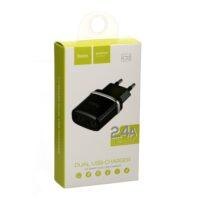 Сетевой адаптер Hoco C12 2USB/2.4A