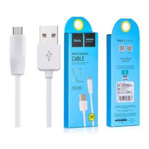 Data Cable Hoco X1 Original MicroUSB 1m