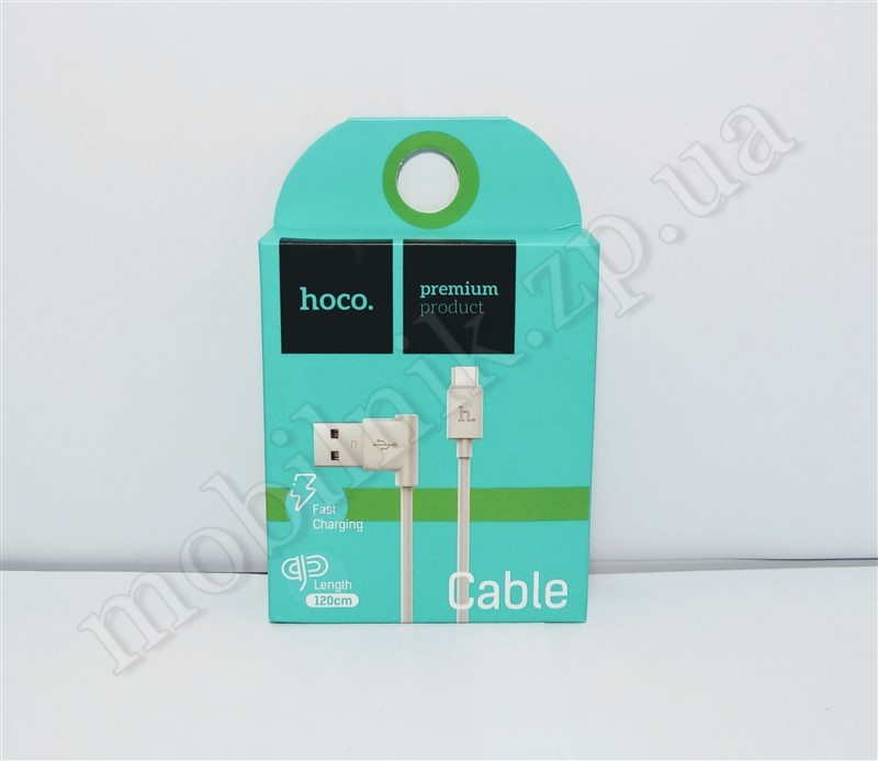 Data Cable Hoco Original L Shape UPM10 2.1A Micro 1.2M