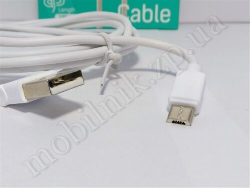 Data Cable Hoco Original L Shape UPM10 2.1A Micro 1.2M