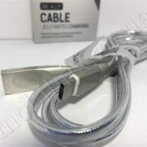 Data Cable Hoco U9 Original Zinc Alloy Jelly Knitted Type-C 1.2m