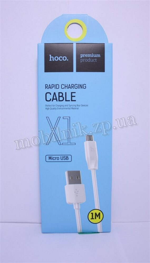 Data Cable Hoco X1 Original MicroUSB 1m