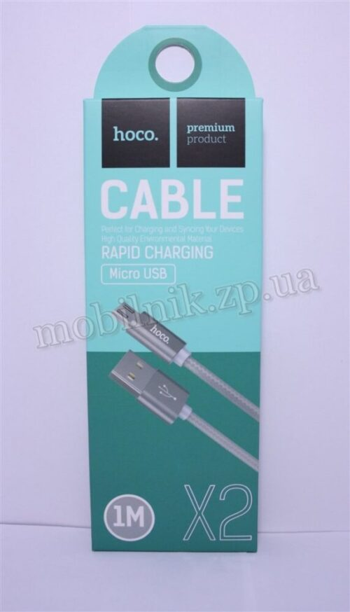 Data Cable Hoco X2 Original MicroUSB 1m