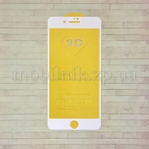 Защитное стекло для Apple iPhone 7/8 Plus (4D/5D White)