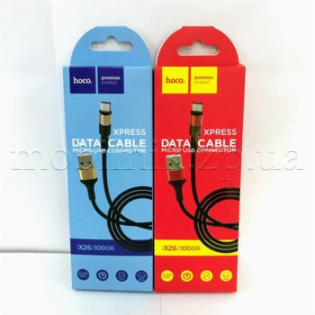 Data cable Hoco X26 Original Micro 1m