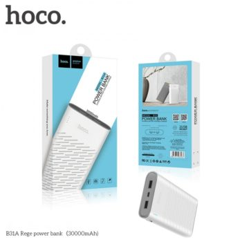 Внешний аккумулятор Power Bank Hoco B31A Rege 30000mAh Original