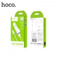 Автомобильное зарядное устройство Hoco Z23 Micro 2 USB Port 2.4A