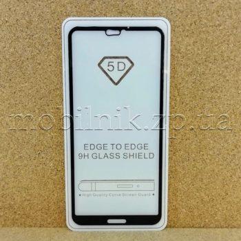 Защитное стекло для Huawei P20 Lite Black 5D