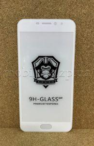 Защитное стекло для Meizu M5 Note White 5D
