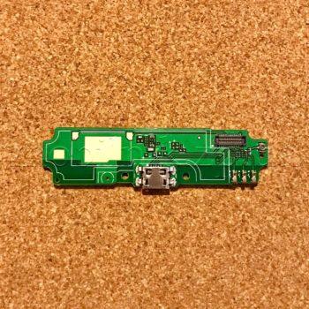 Шлейф для мобильного телефона Xiaomi Redmi 4A, микрофона, коннектора зарядки, с компонентами, плата зарядки