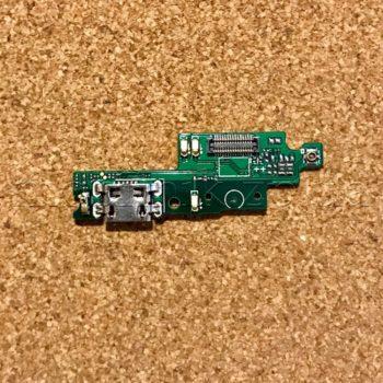Шлейф для мобильного телефона Xiaomi Redmi 4X, коннектора зарядки, с микрофоном, с коннектором, плата зарядки