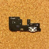 Шлейф для мобильного телефона Xiaomi Redmi 5 Plus, микрофона, коннектора зарядки, с компонентами, плата зарядки