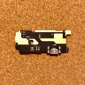 Шлейф для мобильного телефона Xiaomi Redmi Note 4, микрофона, коннектора зарядки, с компонентами, плата зарядки