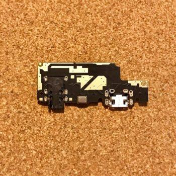 Шлейф для мобильных телефонов Xiaomi Redmi Note 5, Redmi Note 5 Pro, High Copy, коннектора наушников, коннектора зарядки, с микрофоном, плата зарядки