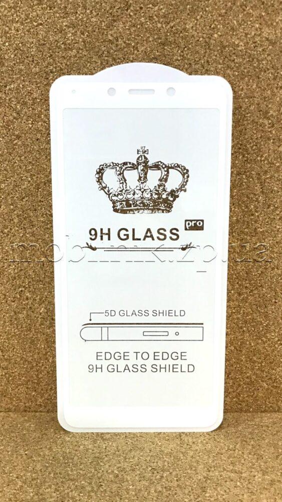 Защитное стекло для Xiaomi Redmi 6/6A White