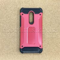 Чехол накладка для Xiaomi Redmi 5 Plus Black-Red противоударный