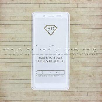 Защитное стекло для Samsung A6 2018 White