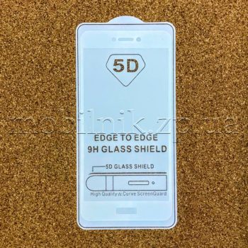 Защитное стекло для Huawei P8 Lite 2017 Black