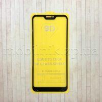 Защитное стекло для Xiaomi Remi 6 Pro/Mi A2 Lite Black