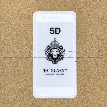 Защитное стекло для Xiaomi Mi 5X/Mi A1 white