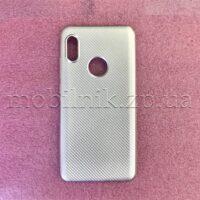 Чехол накладка для Xiaomi Redmi Note 5 Silver