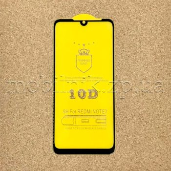 Защитное стекло для Xiaomi Redmi Note 7