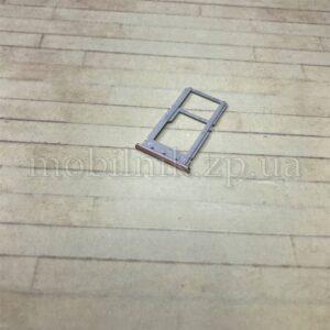 Лоток Sim для Xiaomi Redmi Note 6 Pro розовый
