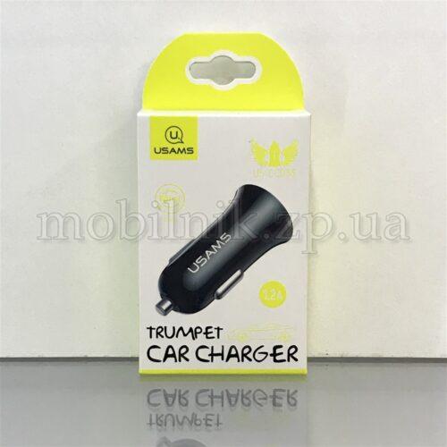 Автомобильное зарядное устройство Usams 1USB 1.2A