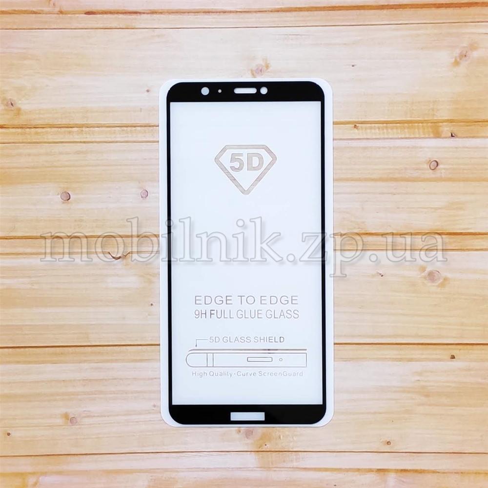 Защитное стекло для Huawei P Smart 2018 Black