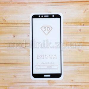 Защитное стекло для Huawei Y6 2018 Black