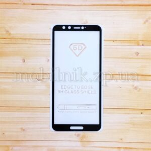Защитное стекло для Huawei Y9 2018 Black