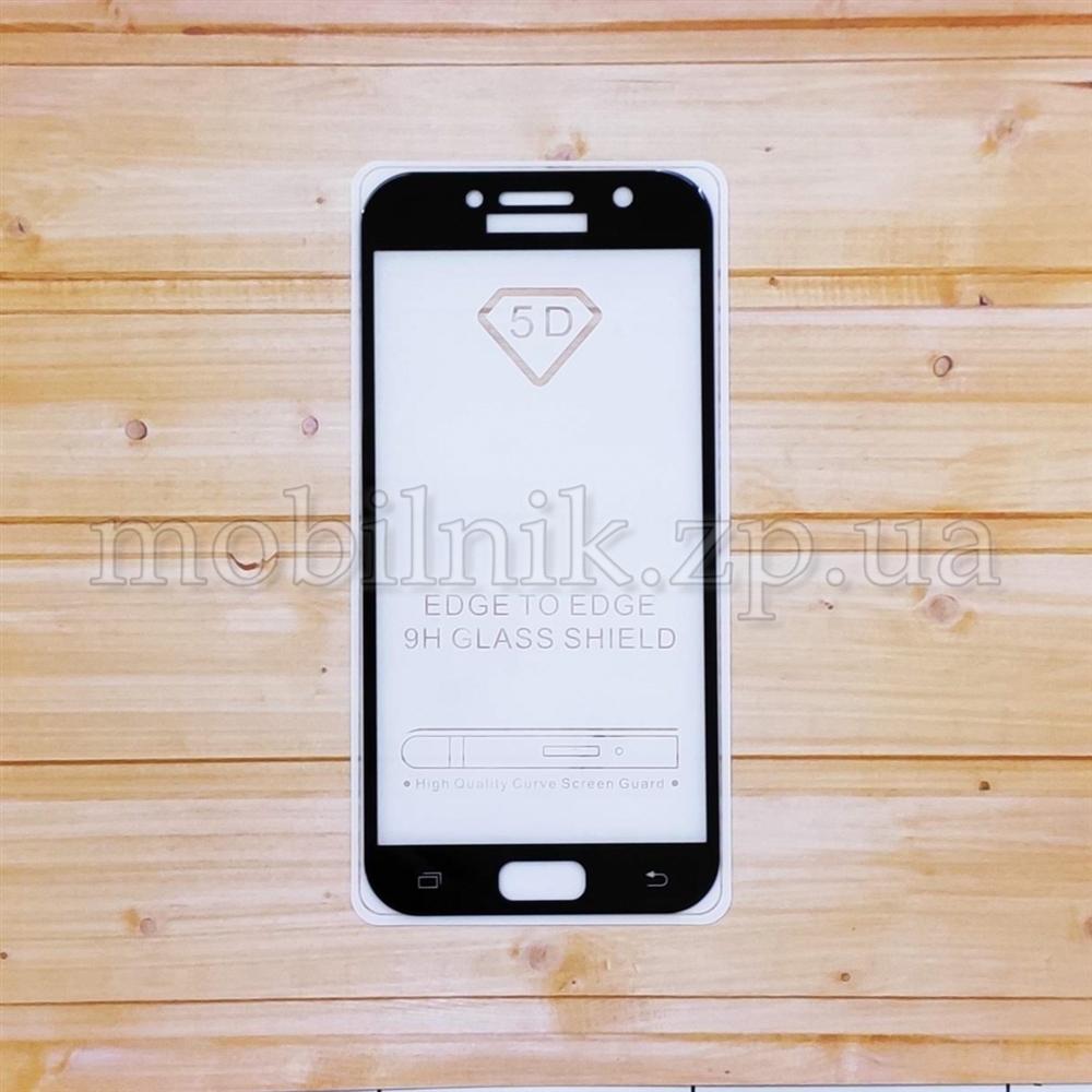 Защитное стекло для Samsung A5 2017(A520) Black