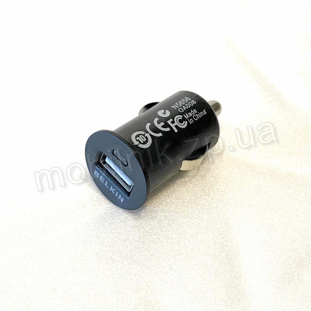 Автомобильное зарядное устройство Belkin 1USB 2.1A Купить в Запорожье