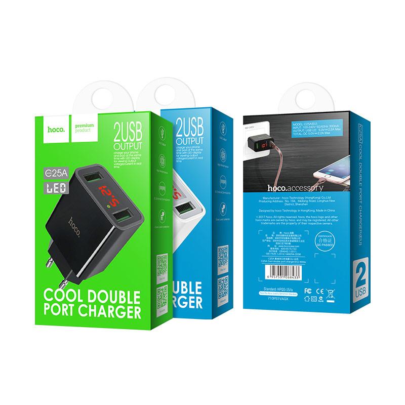 Зарядное устройство Hoco C25A Купить в Запорожье