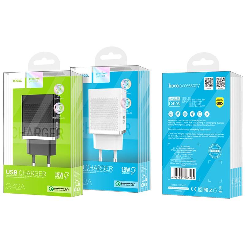 Зарядное устройство Hoco C42A Купить в Запорожье