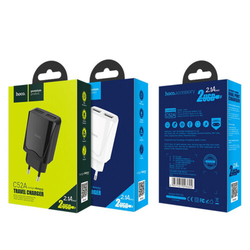 Зарядное устройство Hoco C52A Купить в Запорожье