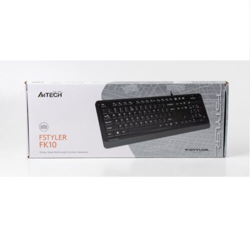 Клавиатура A4tech FK10 (Grey) Купить в Запорожье