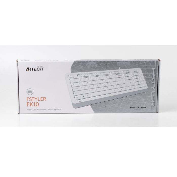 Клавиатура A4tech FK10 (White) Купить в Запорожье
