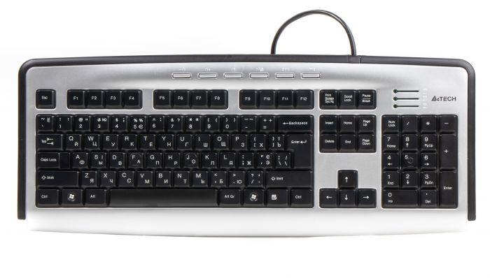 Клавиатура A4Tech KL-23MUU X-slim USB Купить в Запорожье