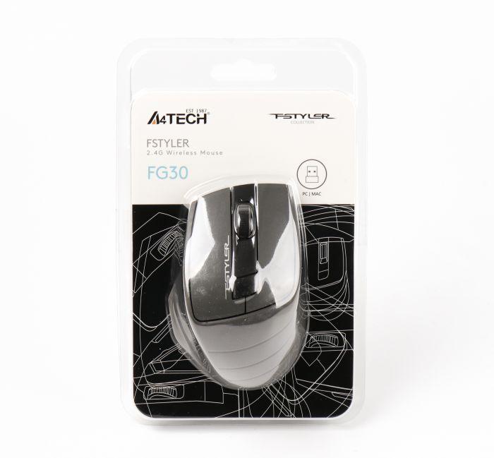 Мышь A4Tech FG30 (Grey) беспроводная Купить в Запорожье