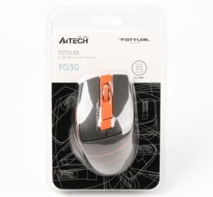 Мышь A4Tech FG30 (Orange) беспроводная Купить в Запорожье