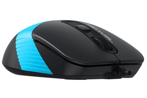 Мышь A4tech FM10 Fstyler Black-Blue Купить в Запорожье