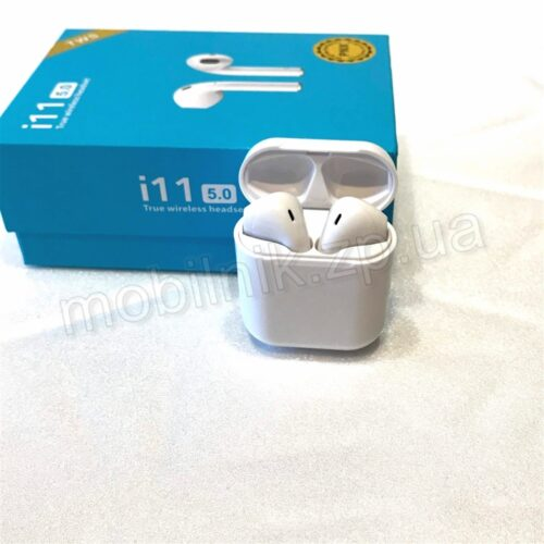 Наушники Bluetooth i11 Touch White Купить в Запорожье
