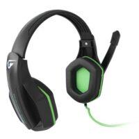 Наушники Gemix W-330 black-green