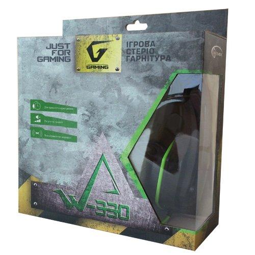 Наушники Gemix W-330 black-green Купить в Запорожье