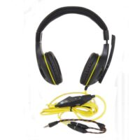Наушники Gemix W-390 black-yellow