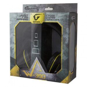 Наушники Gemix W-390 black-yellow Купить в Запорожье